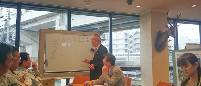 フジハウジング本社ビルにて理事会が開催されました