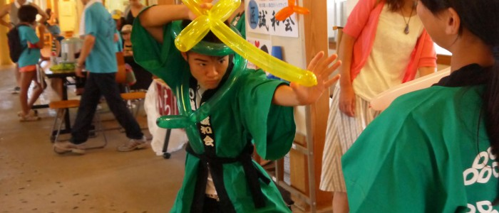 埼玉県加須市大利根町の子育てサークル「チームペガサス」 夏祭り「とねチル2016」にブース参加しました